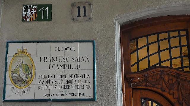 carrer Petritxol, 11 de Barcelona