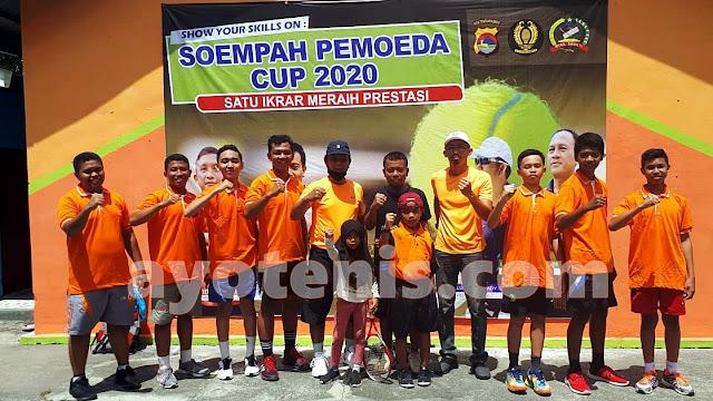 Turnamen Tenis Soempah Pemoeda Cup 2020 Telah Usai, Inilah Juaranya