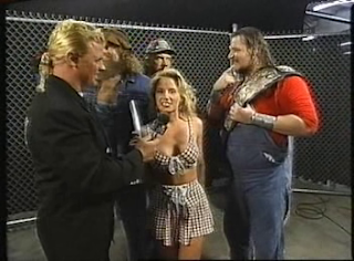 WWF / WWE - IN YOUR HOUSE 8 - BEWARE OF DOG - Sunny declared herself the new co-manager of WWF Tag Team Champions The Godwins