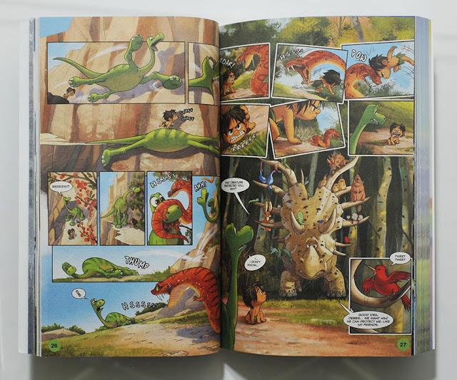 The Good Dinosaur comic adaptation