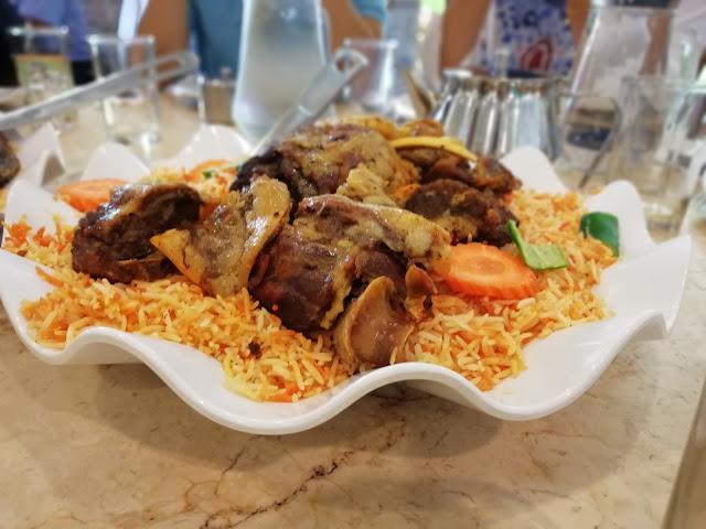 LUNCH DI AL RAWSHA NASI ARAB SEKSYEN 7 SHAH ALAM
