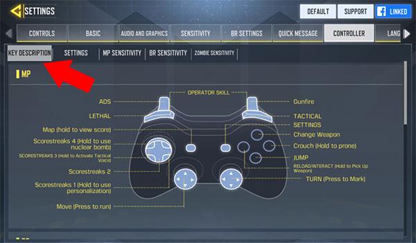 شرح خيارات يد التحكم في لعبة كول اوف ديوتي موبايل 2 - بحرية درويد