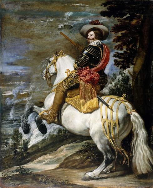 Диего Веласкес - Конный портрет Гаспара де Гусмана, графа-герцога Оливареса (1635)