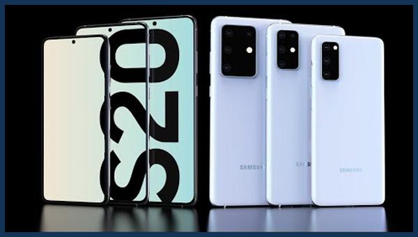 مقارنة بين هواتف Galaxy S20 و S20 Plus و S20 Ultra المواصفات السعر