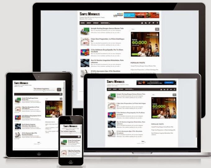 Kumpulan Template Blog GRATIS, Responsive dan SEO Untuk Pemula