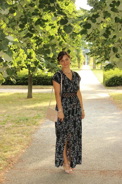 robe longue scarlet roos, lola jones, minelli, les petites bulles de ma vie