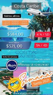 Imagen paquete Turístico semana santa 2021 Isla Margarita