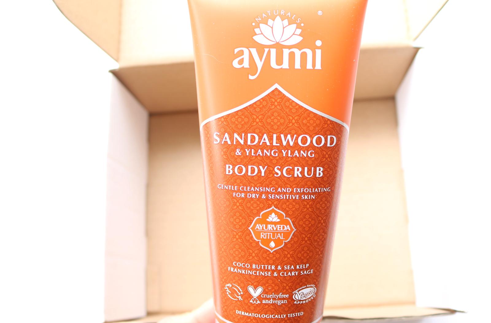 Ayumi Naturals Sandalwood & Ylang Ylang Body Scrub