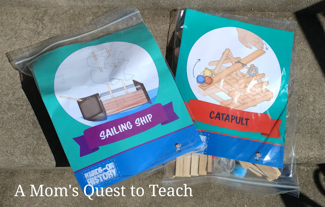sailing ship kit and catapult kit