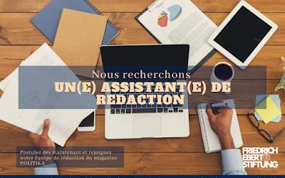 Assistant(e) de Rédaction