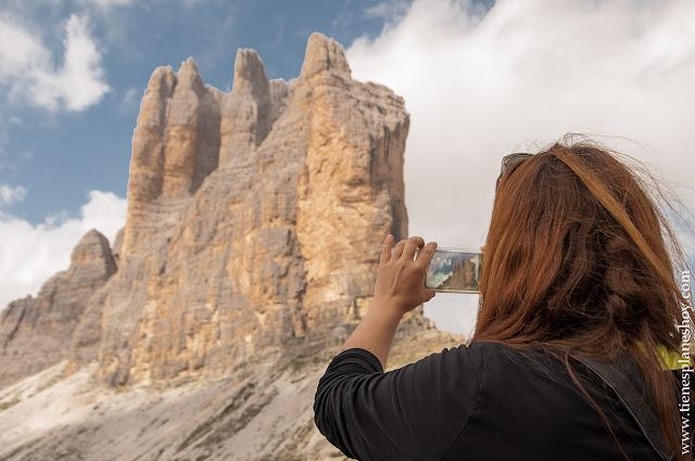 Tres Cimas de Lavaredo blog viaje Italia roadtrip trekking