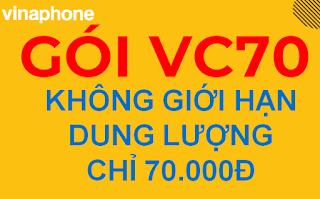 Gói cước VC70 Vinaphone