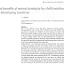 Os benefícios dos produtos de origem animal para a nutrição infantil em países em desenvolvimento.