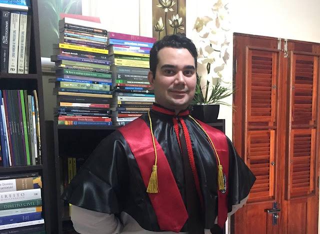 Inspiração para os jovens: Manoel Valente Figueiredo Neto, o filho de Tuntum-MA que será o novo professor de Direito da UFRJ (Universidade Federal do Rio de Janeiro).