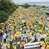 Ato contra governo Dilma reúne mais de 80 MIL  manifestantes em Manaus(AM) segundo Organização do Evento