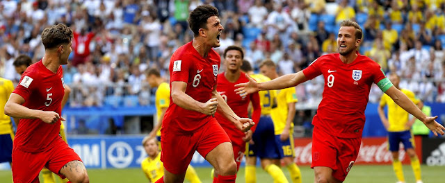 Rusia 2018: Suecia - Inglaterra