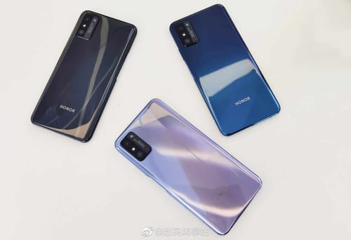 A leak reveals the upcoming Honor X10 Max colors