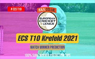 BUW vs DSS 26th Match ECS T10 Krefeld 100% Sure Match