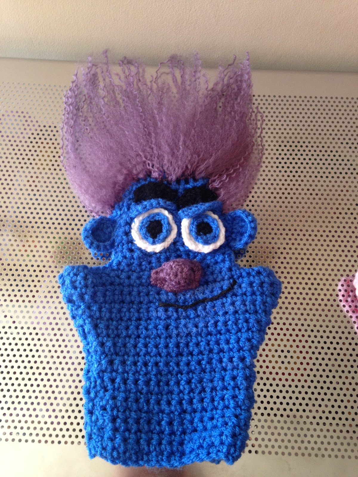 The Perfect Stitch Trolls Branch Hand Puppet