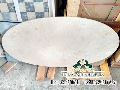 Top Table Batu Marmer