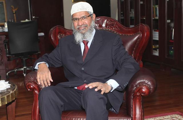 Kerajaan Arab Saudi Hadiahkan Kewarganegaraan Kepada Da'i Kondang asal India, Dr Zakir Naik
