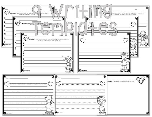 https://www.teacherspayteachers.com/Product/Valentines-Day-Writing-Craft-3617114