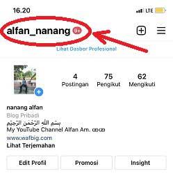 Cara Copy Link Instagram sendiri di iPhone