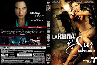 CARATULALA REINA DEL SUR TEMPORADA 2 2019 [ COVER DVD ]