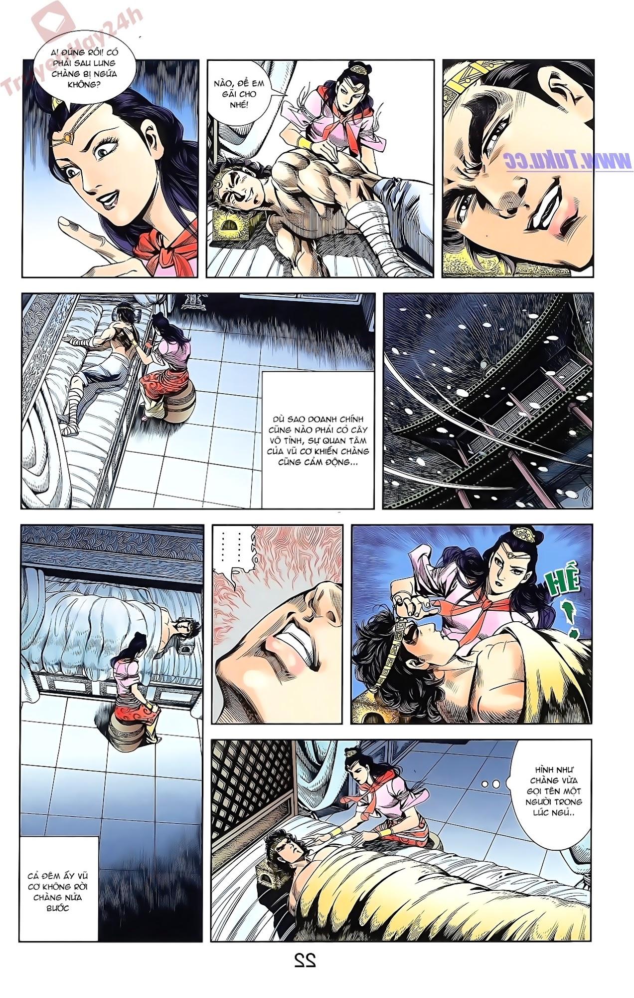 Tần Vương Doanh Chính chapter 50 trang 22