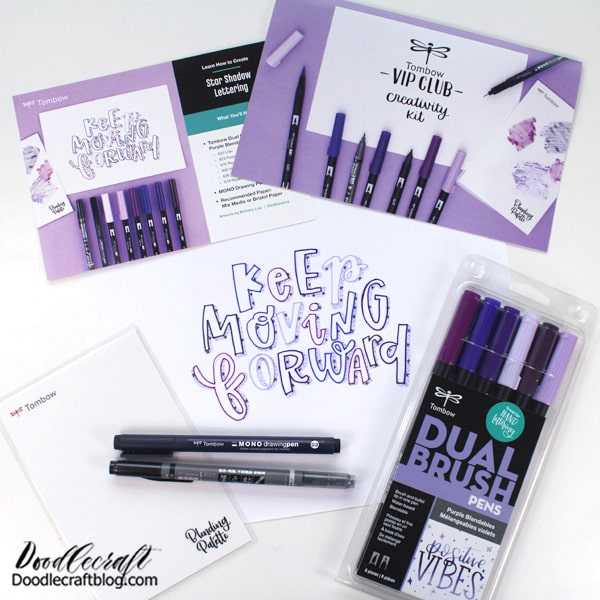 Tombow Creativity Kit for the VIP Club!