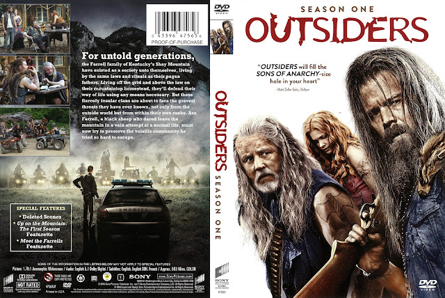Outsiders Season 1 DVD Cover