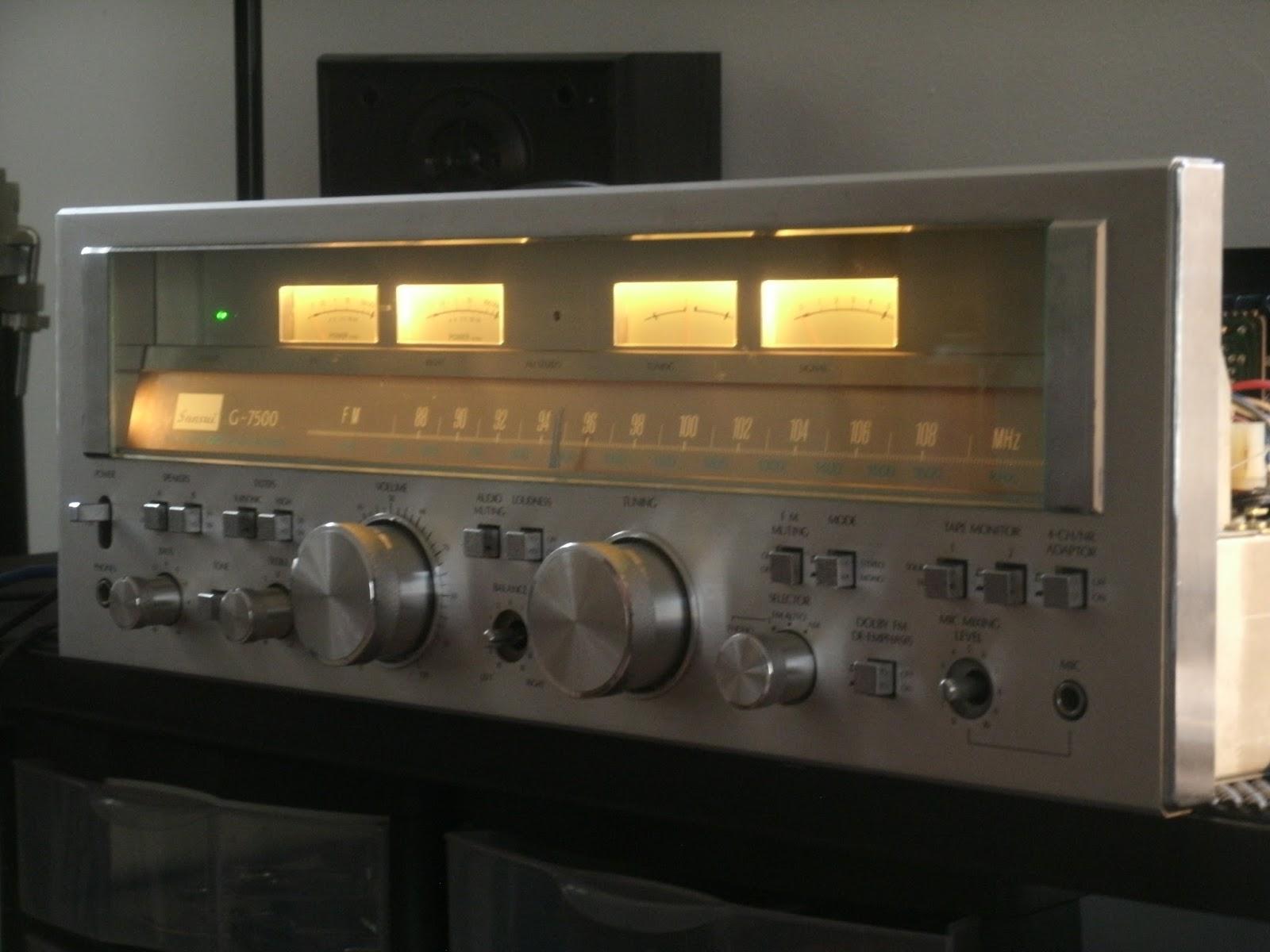 Sansui G-7500 Receiver