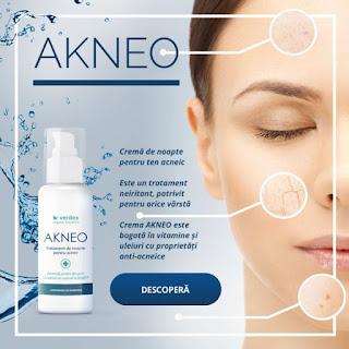 Comanda de aici crema care vindeca cosurile Akneo