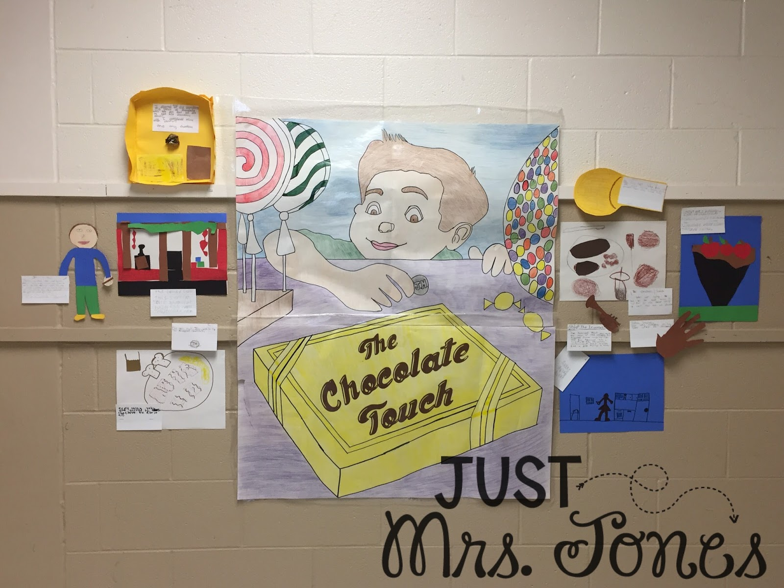 Just Mrs. Jones: Novel Units: The Chocolate Touch
