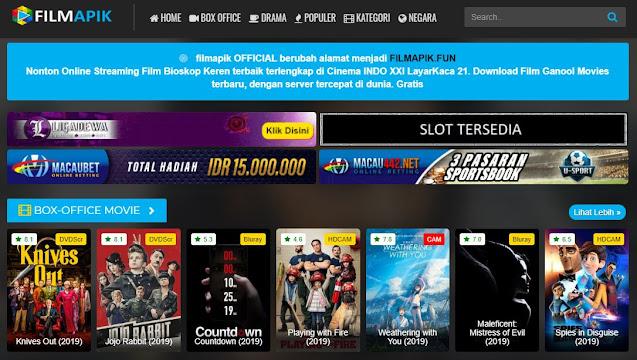 14 Situs Streaming Film Gratis Terbaru Dan Terupdate Pengganti INDOXXI 4