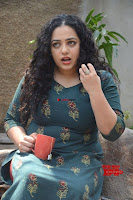 Nithya Menon promotes her latest movie in Green Tight Dress ~  Exclusive Galleries 050.jpg