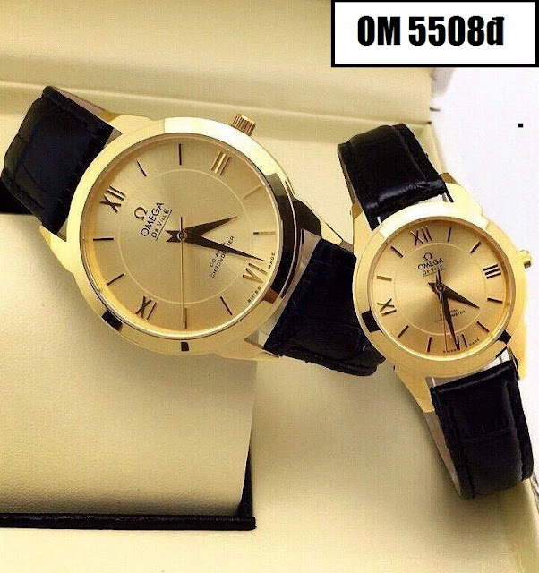 Đồng hồ dây da Omega 5508D
