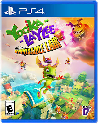 Yooka Laylee And The Impossible Lair Game Cover Ps4