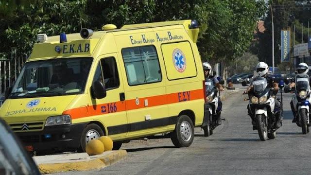 Έκρηξη και πυρκαγιά σε αποστακτήριο στη Λάρισα με 8 τραυματίες