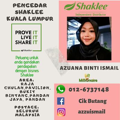 Pengedar Shaklee Raja Chulan KL 0126737148