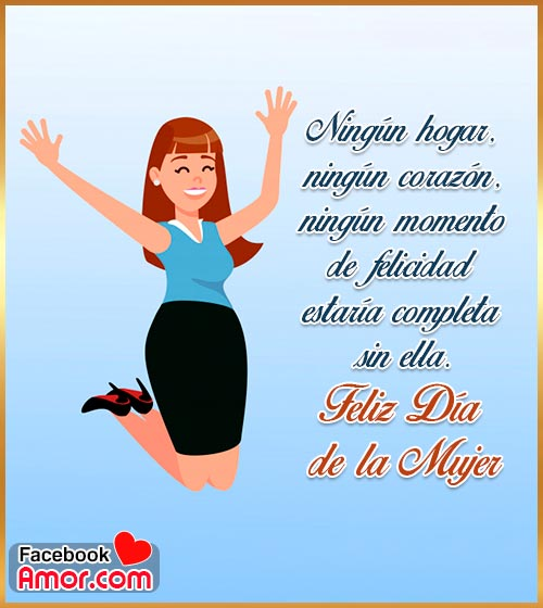 palabras feliz día de la mujer
