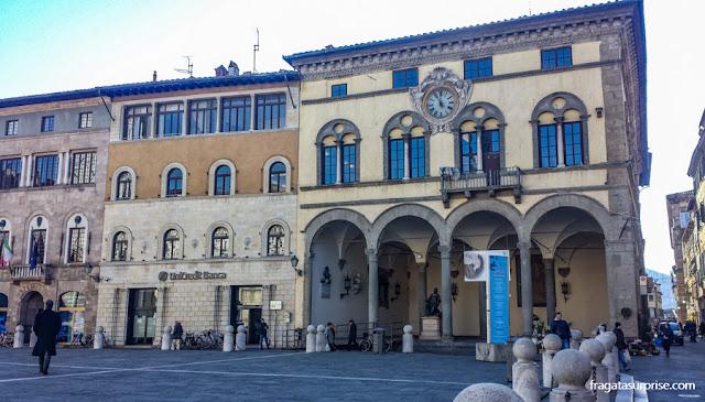 Piazza San Michelle, antigo Fórum Romano de Lucca, Itália