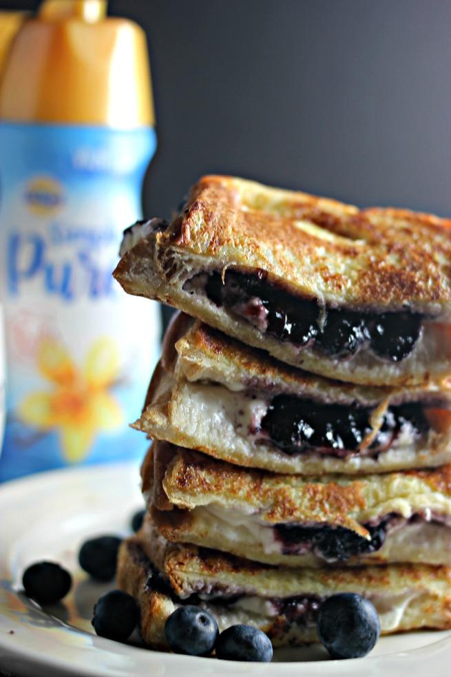 Scrumptious Blueberry Cream Cheese Stuffed French Toast recipe