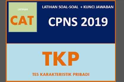 Latihan Soal Tes Karakteristik Pribadi (TKP) NEW CPNS 2019