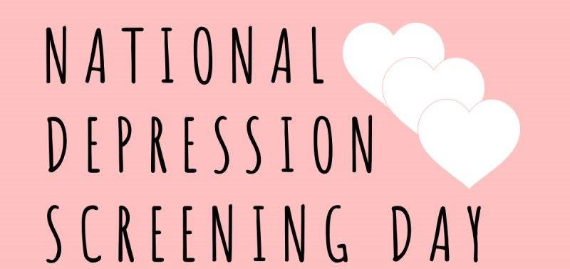 National Depression Screening Day Wishes Unique Image