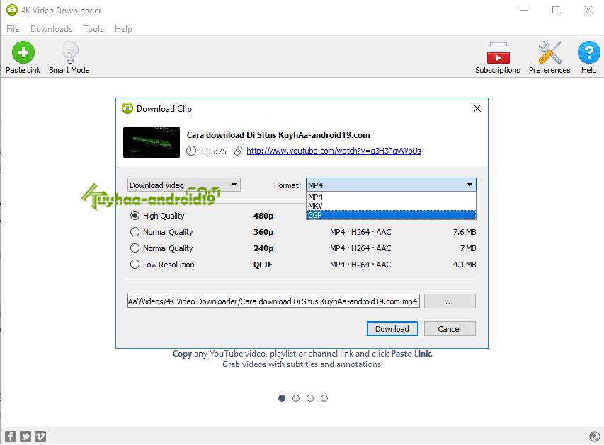 4K Video Downloader kuyhaa