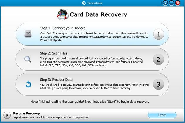 Card Data Recovery Full Serial