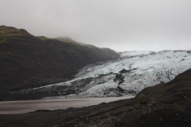 An arm of Mýrdalsjökull Glacier in Iceland.