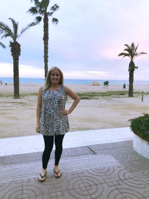 My 2019 goals - standing on the Santa Susanna beach at sunset