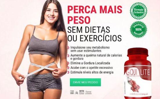 Goji Lite para Queimar Gordura Localizada e Aumentar Energia